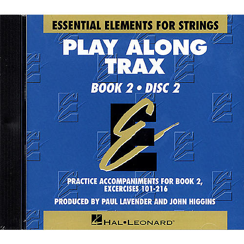 Hal Leonard Essential Elements for Strings Play-Along Trax - Book 2, Disc 2 Essential Elements CD by John Higgins