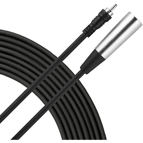 Livewire Essential Interconnect Cable RCA Male to XLR Male Condition 1 - Mint 5 ft. Black