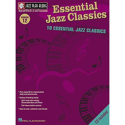 Hal Leonard Essential Jazz Classics - Jazz Play Along Volume 12 Book with CD