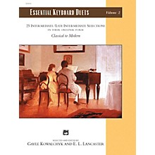 Alfred Essential Keyboard Duets, Volume 2 Intermediate / Late Intermediate