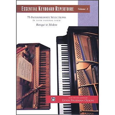 Alfred Essential Keyboard Repertoire Volume 2