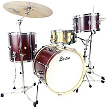 Essential Maple 3-Piece Shell Pack with 20 in. Bass Drum Red Cherry Satin