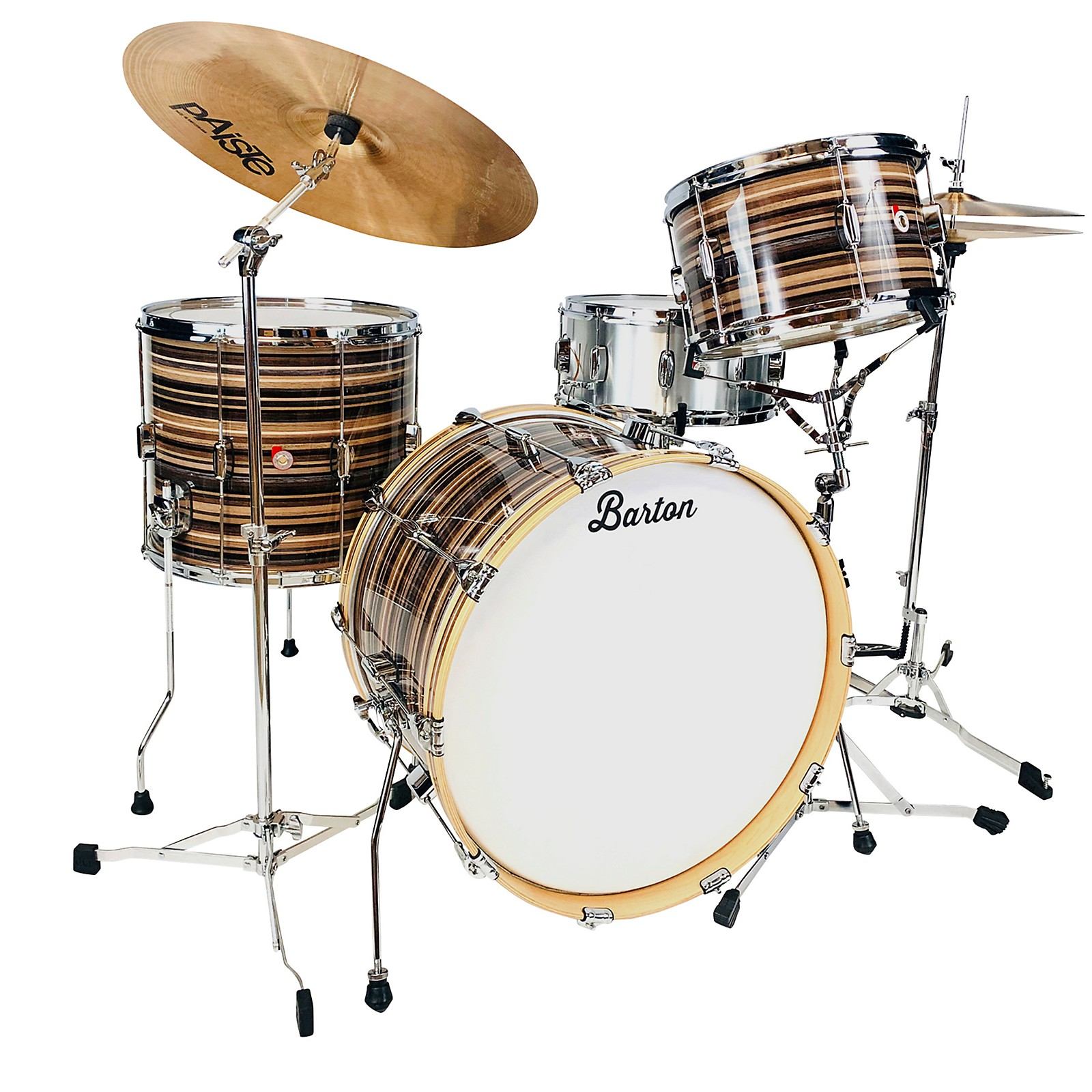 Barton Drums Essential Maple 3-Piece Shell Pack with 22 in. Bass Drum