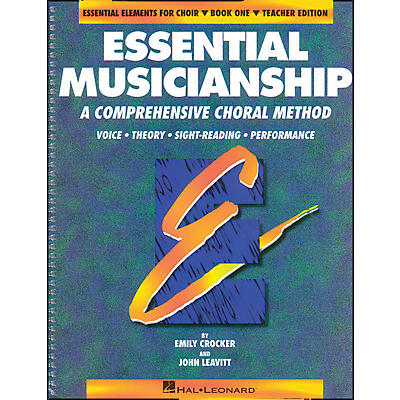 Hal Leonard Essential Musicianship Book 1 Teacher