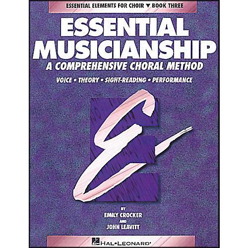 Hal Leonard Essential Musicianship Book 3 Student