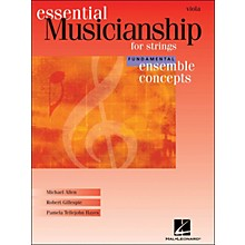 Hal Leonard Essential Musicianship for Strings - Ensemble Concepts Fundamental Viola