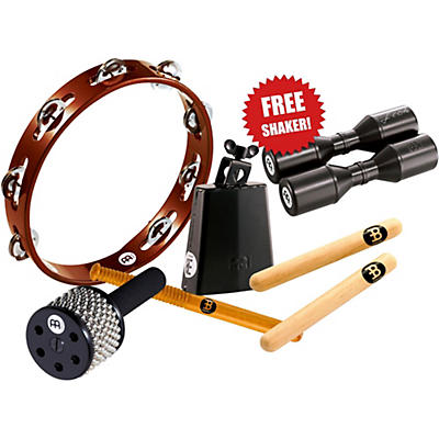 Meinl Essential Perc Pack With Free Shaker for Cajon, Djembe, Bongos and Congas