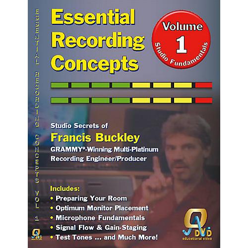 QDVD Essential Recording Concepts DVD Vol. 1