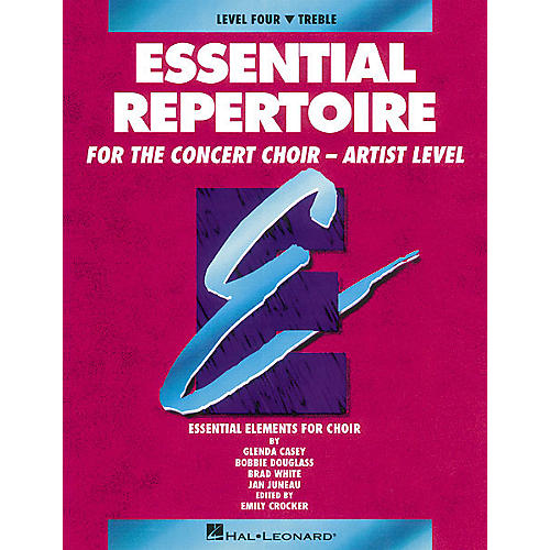 Hal Leonard Essential Repertoire for the Concert Choir - Artist Level Treble Perf/Acc CDs (2) by Glenda Casey