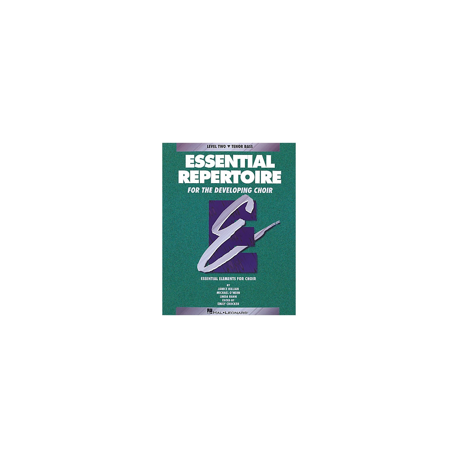Hal Leonard Essential Repertoire for the Developing Choir Tenor Bass Part-Learning CDs 3 Composed by Janice Killian