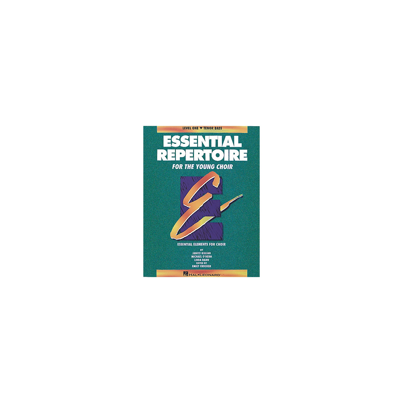 Hal Leonard Essential Repertoire for the Young Choir Tenor Bass Part-Learning CDs 3 Composed by Janice Killian
