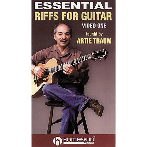 Homespun Essential Riffs for Acoustic Guitar (VHS)