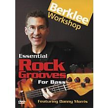 Berklee Press Essential Rock Grooves for Bass (DVD)