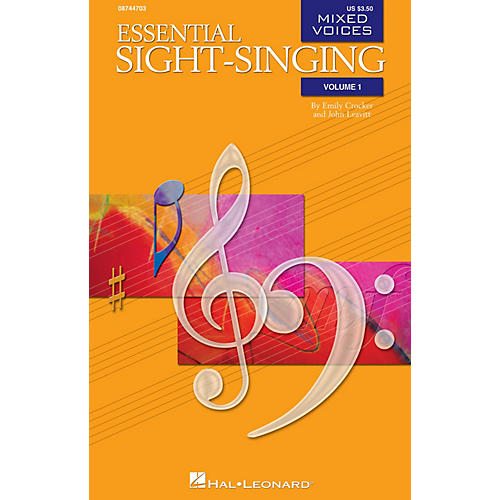 Hal Leonard Essential Sight-Singing Vol. 1 Mixed Voices (Mixed Voices Accompaniment CD Volume 1) CD ACCOMP