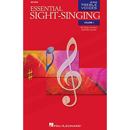 Hal Leonard Essential Sight-Singing Vol. 1 Treble Voices (Treble Voices Book Volume 1) SA