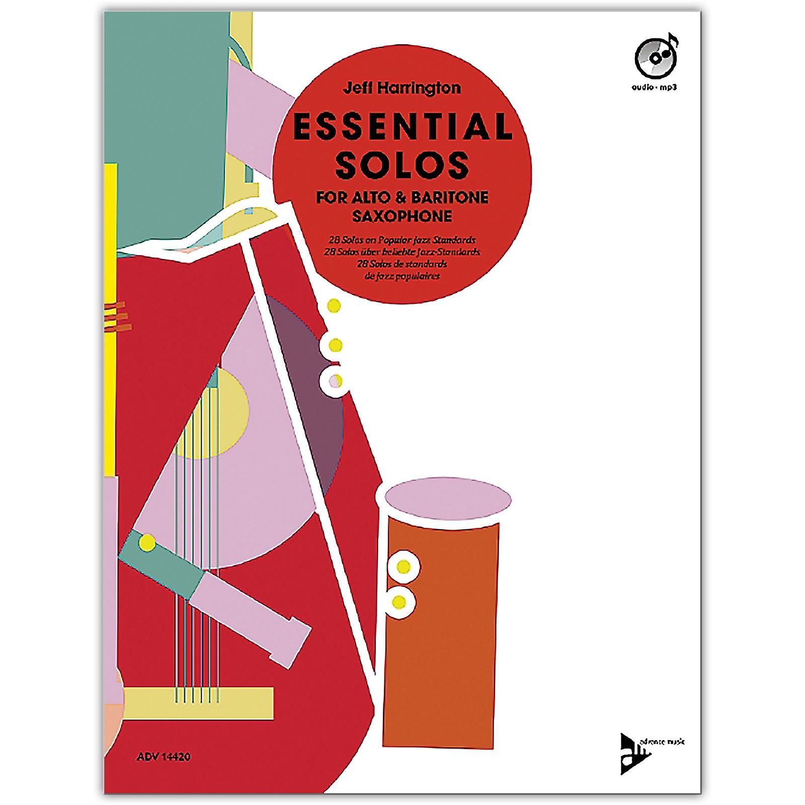 ADVANCE MUSIC Essential Solos for Alto and Baritone Saxophone Alto/Baritone Saxophone Book & CD