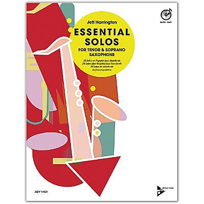 ADVANCE MUSIC Essential Solos for Tenor and Soprano Saxophone Tenor/Soprano Saxophone Book & CD
