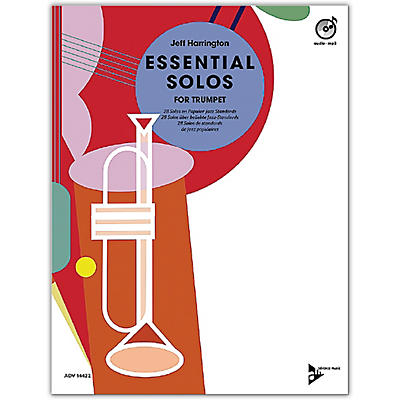 ADVANCE MUSIC Essential Solos for Trumpet Book & CD