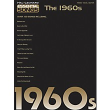 Hal Leonard Essential Songs - The 1960's Piano/Vocal/Guitar Songbook