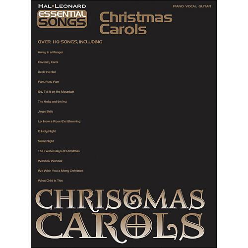 Hal Leonard Essential Songs Christmas Carols arranged for piano, vocal, and guitar (P/V/G)