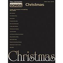 Hal Leonard Essential Songs Christmas arranged for piano, vocal, and guitar (P/V/G)
