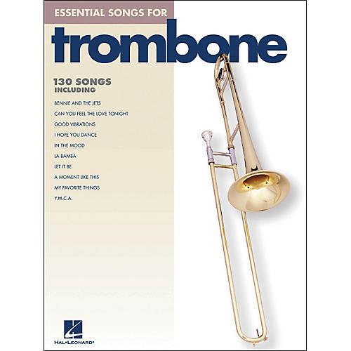 Hal Leonard Essential Songs For Trombone