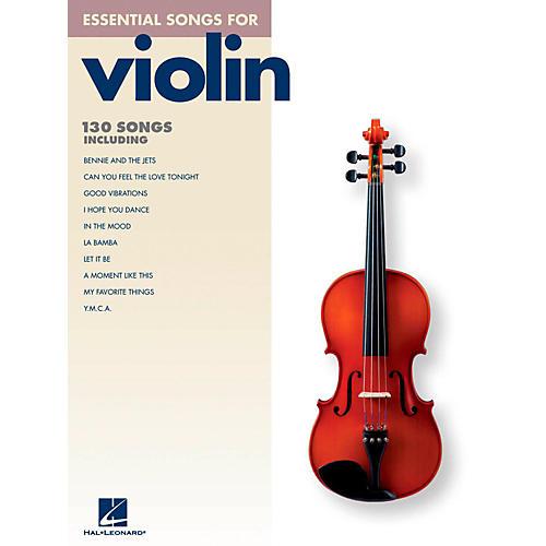 Hal Leonard Essential Songs For Violin
