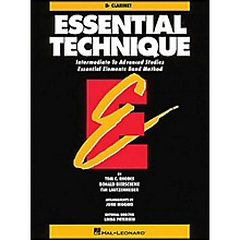 Hal Leonard Essential Technique B Flat Clarinet Intermediate To Advanced Studies