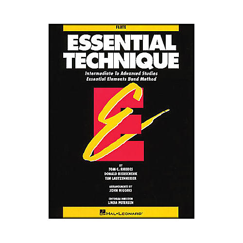 Hal Leonard Essential Technique Flute Intermediate To Advanced Studies