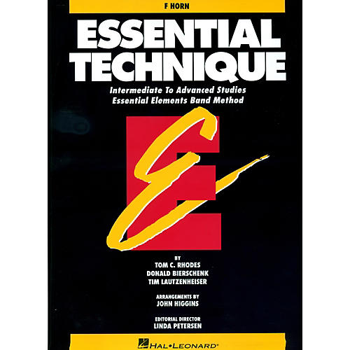 Hal Leonard Essential Technique For French Horn - Intermediate To Advanced Studies