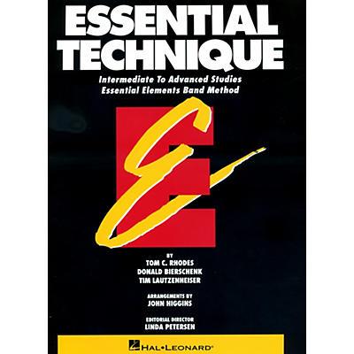 Hal Leonard Essential Technique For Tuba Intermediate To Advanced Studies
