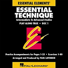 Hal Leonard Essential Technique (Original Series) (Play Along Trax (2-CD set)) Concert Band