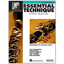 Hal Leonard Essential Technique for Band - Bb Clarinet 3 Book/Online Audio