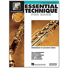Hal Leonard Essential Technique for Band - Eb Alto Clarinet 3 Book/Online Audio