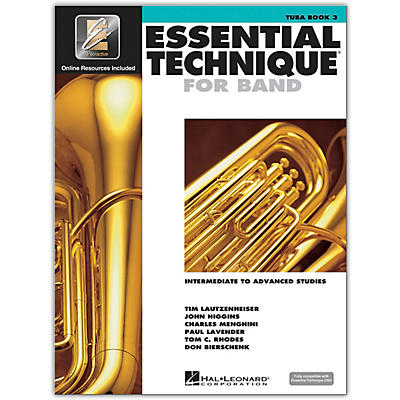 Hal Leonard Essential Technique for Band - Tuba 3 Book/Online Audio