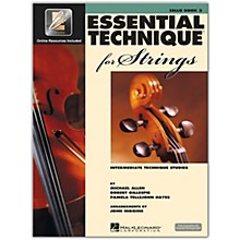 Hal Leonard Essential Technique for Strings - Cello 3 Book/Online Audio