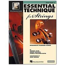 Hal Leonard Essential Technique for Strings - Cello 3 Book/Online Audio