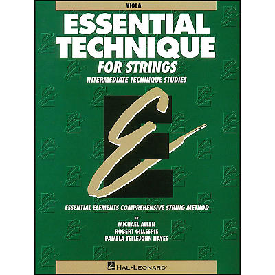 Hal Leonard Essential Technique for Strings Viola
