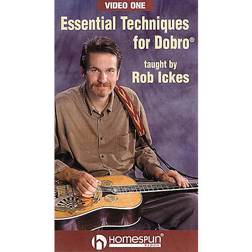 Homespun Essential Techniques for Dobro 1 (VHS)