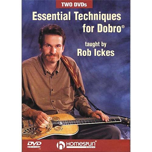 Homespun Essential Techniques for Dobro DVD