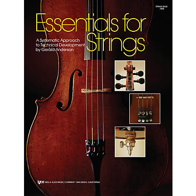KJOS Essentials For Strings String Bass