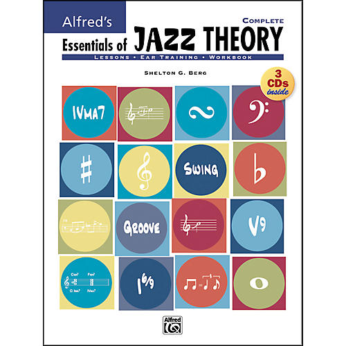 Alfred Essentials Of Jazz Theory Complete 1-3 Book/Cds