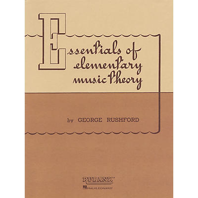 Rubank Publications Essentials of Elementary Music Theory Method Series