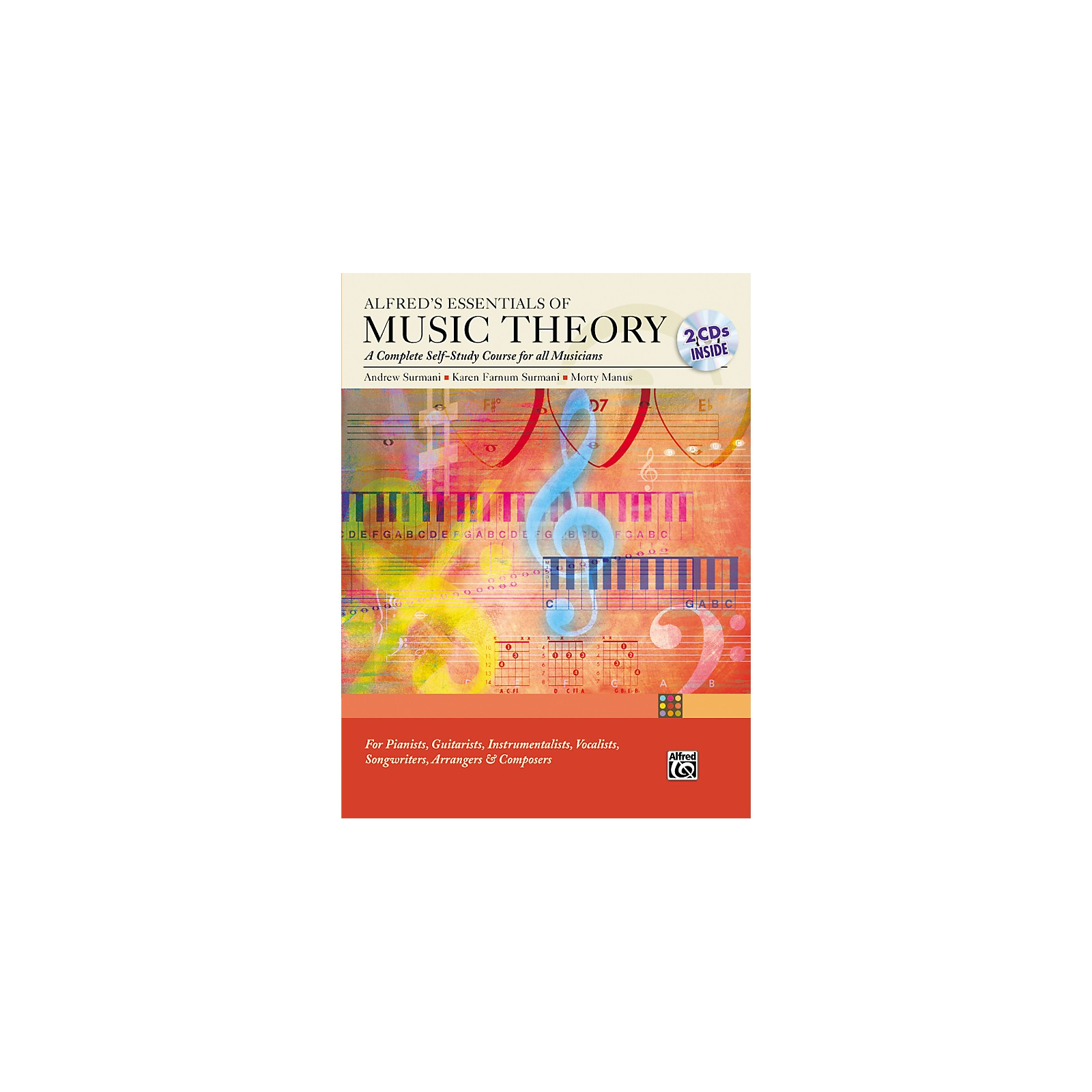 Alfred Essentials of Music Theory: Complete Self-Study Course (Book/2-CD)