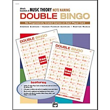 Essentials of Music Theory Double Bingo Note Names