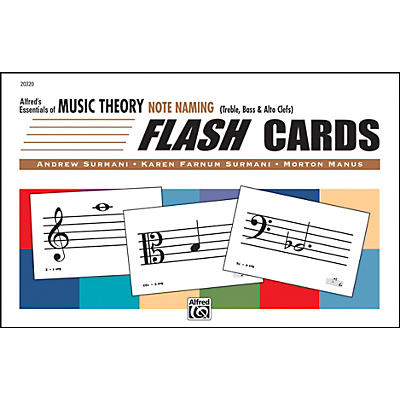 Alfred Essentials of Music Theory: Flash Cards - Note Naming