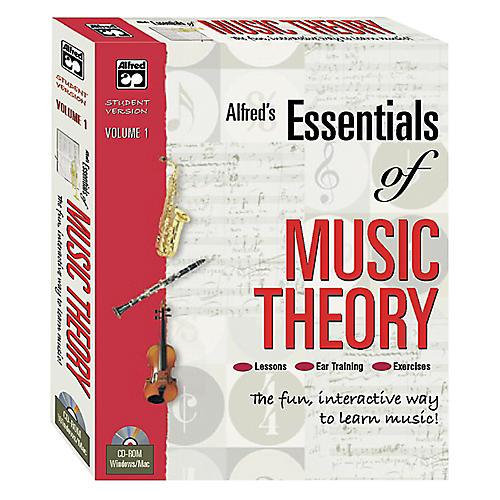 Alfred Essentials of Music Theory Lab Pak 30, Volume 1