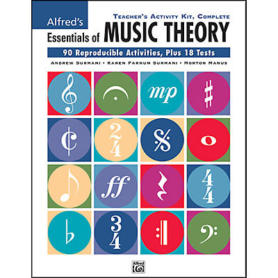 Alfred Essentials of Music Theory Teacher's Activity Kit Complete Complete