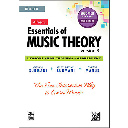 Alfred Essentials of Music Theory: Version 3 CD-ROM Educator Version Complete
