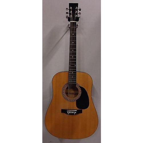 Burswood Esteban Acoustic Guitar Natural